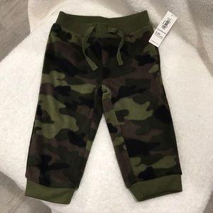 Infant army camo sweatpants
